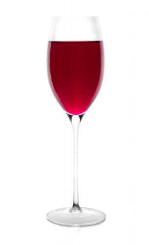 2 Tall Stemmed Wine Glasses 340ml